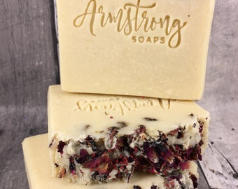 AMELIA - Viva la Juicy -Juicy Couture Type Fragrance- 100% Rustic Handmade Artisan Soap- All Natural