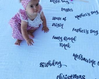 Aussie Special Occasion Baby Blanket