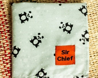 Panda - Handkerchief / Pocket Square