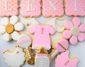 Baby Shower Cookies  (15) - Customizeable!
