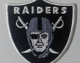9 Sizes Oakland Raiders Inspired Machine Embroidery Designs in 8 formats and 9 sizes