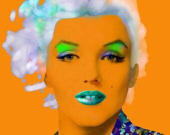 Marilyn Monroe - 50's Film Star, Hollywood Siren, Celebrity Portrait Prints, Cinema & Film Stars