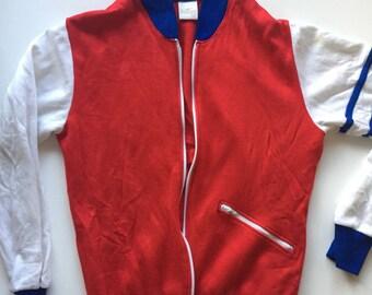 Vintage Jantzen track jacket 70's track jacket small