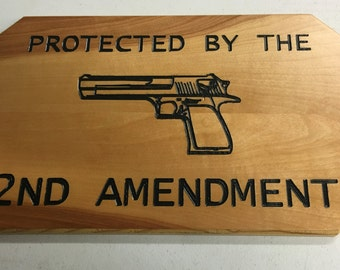2nd Amendment Sign