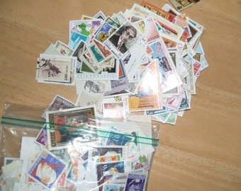Postage stamps from Worldwide. Used and New