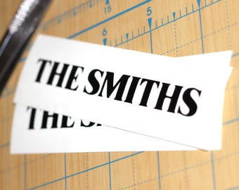 The Smiths Logo Sticker | The Smiths Decal