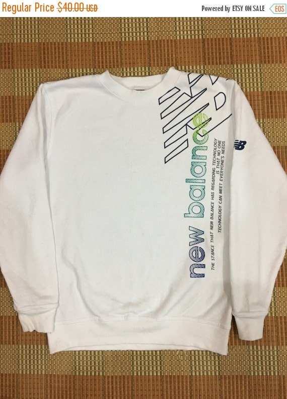 d8027e57a2ccc outlet 50% OFF Vintage 90s New Balance Sweatshirt by ...