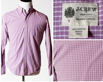 J Crew Men's Shirt - Button Down Small S