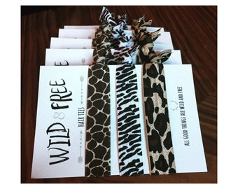 Wild and Free Hair Ties - Wild Thing