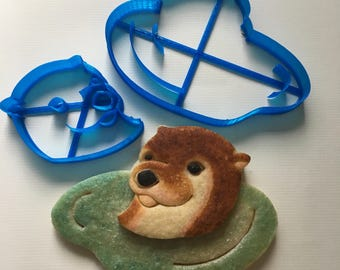 River Otter Cookie Cutter Set