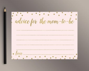 advice for the momtobe pink gold baby shower games gold