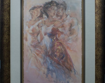 Love secrets by Gary Benfield (Limited Edition)  Framed and matted