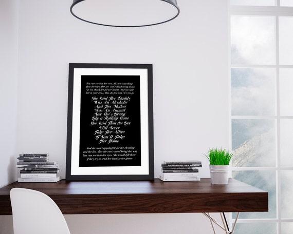 HURTS. Rolling Stone. Digital Art, Printable Art, Wall decor, Motivational Print, Wall Print,Home decor, Hurts poster, Hurts art