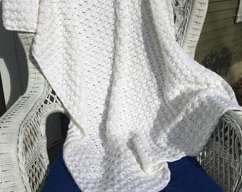 homemade crochet afghan