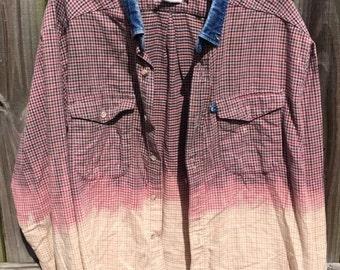 Triple Dip Bleached Flannel