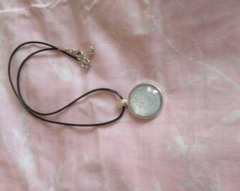 Silver Cabochon Pendant