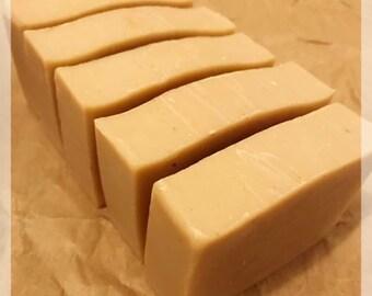 CREAMY Milk & Oatmeal Soap / Natural Soaps / No colorants / Back to Basics / Grandma Soap