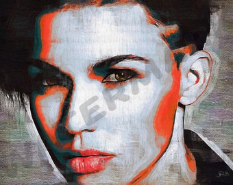 Ruby Rose OITNB Art Print - Oil Painting Poster  LFF0165