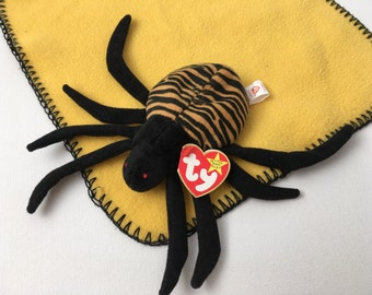 Spinner the Spider  Ty Beanie Baby Collection