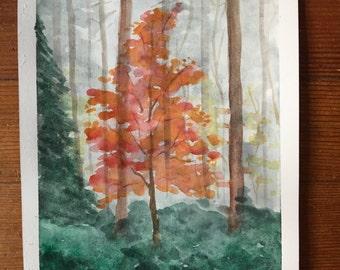 Autumn's Last Sigh