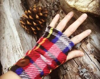 The Forbidden Gloves Fingerless Fleece Texting Gloves
