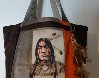 ethnic handbag or tote bag