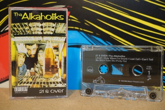 21 & Over by Tha Alkaholiks Vintage Cassette Tape