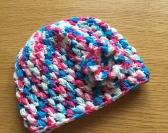 Newborn baby hat.