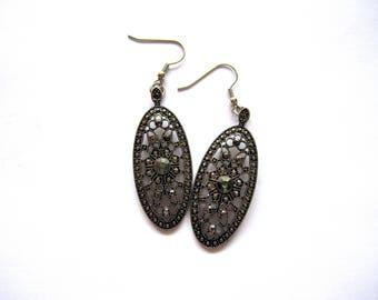 Handmade Vintage style elegant earrings