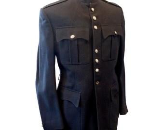 Scots Guards Dark Blue Man's Jacket/Tunic - British Army - Genuine Issue - E77