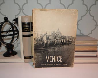 Wall Art - 1954 Book of Venice