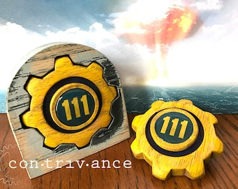 Fallout 4 - Vault 111 - Hand Spinner - Fidget Toy with Full Ceramic bearing option - Fidget Spinner