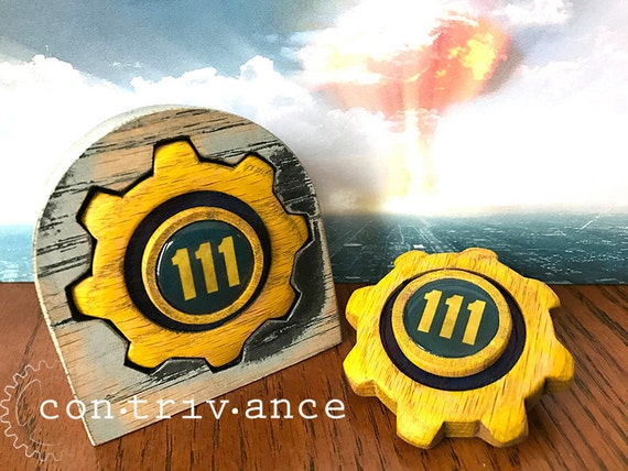 Fallout 4 - Vault 111 - Hand Spinner - Fidget Toy with Full Ceramic bearing  option