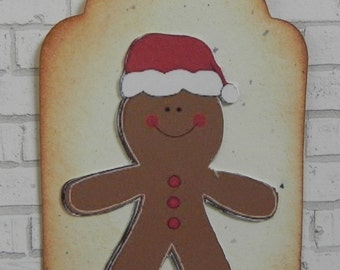 Gingerbread Gift Tags, Christmas Gift Tags, Gift Tags, Holiday Tags
