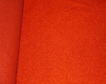 Burnt Orange Vintage Upholstery