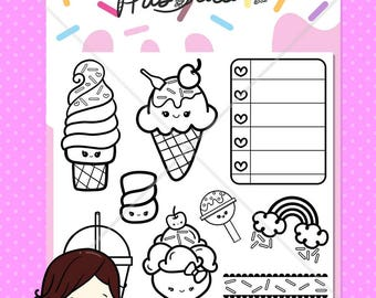Kawaii Sweets Stamp Set
