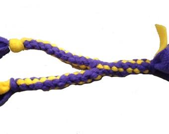 tug for dog fleece tug in Y / toy / agility / flyball