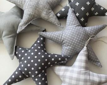 Star dust for decoration-Star Pillows-decorative pillow-cushion star-decoration-pillow for kids-little star pillows