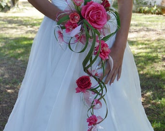 Seduction wedding Bouquet preserved flowers - Keep Your Bride Bouquet - Preserved Natural Flowers