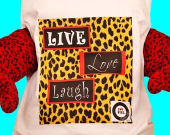 Live, Love, Laugh LuvHugz pillow