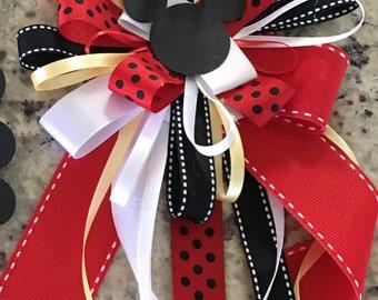 Mickey/Minnie Corsage