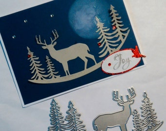 Deer in the Pines Die