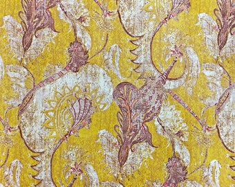 John Stefanidis Alexandrine Cotton Designer Fabric by the yard