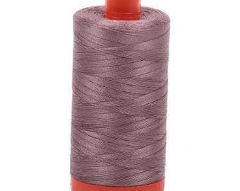 Aurifil Mako Cotton Thread Solid 50wt 1422yds 1050-6731 Tiramisu