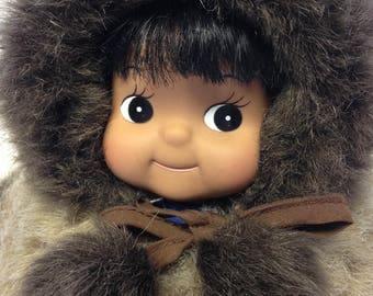 Vintage Kipmik Eskimo Doll from Anchorage, Alaska