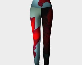 Dark Rose Leggings