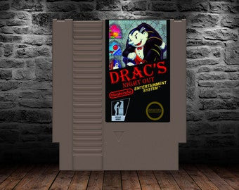 Dracs Night Out - Pump up your Reeboks, Drac is going out for a night on the town - NES - Unreleased