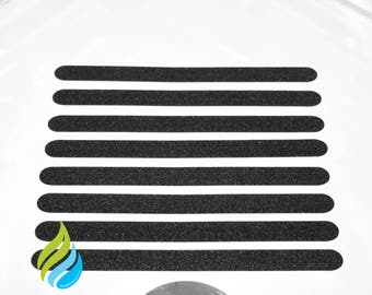 Hygienically Clean and  Modern Non Slip Bath Shower Safety Strong Stickers Mat FREE SHIPPING