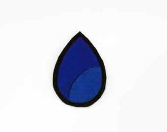Lapis Lazuli Patch, Steven Universe Patch, Crystal Gem Patch, Steven Universe Pin, Iron On Lapis Lazuli Patch, Lapis Lazuli Pin