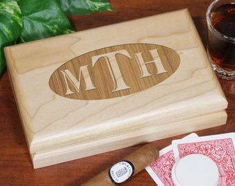 Personalized Engraved Valet Box Custom Name Gift